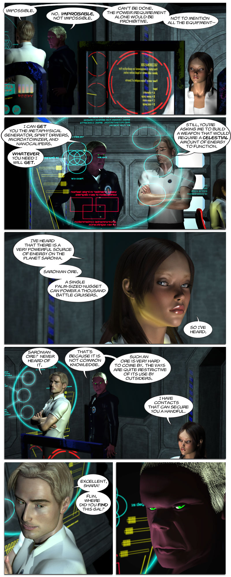 Chapter 4, page 20 – Flin suspects something