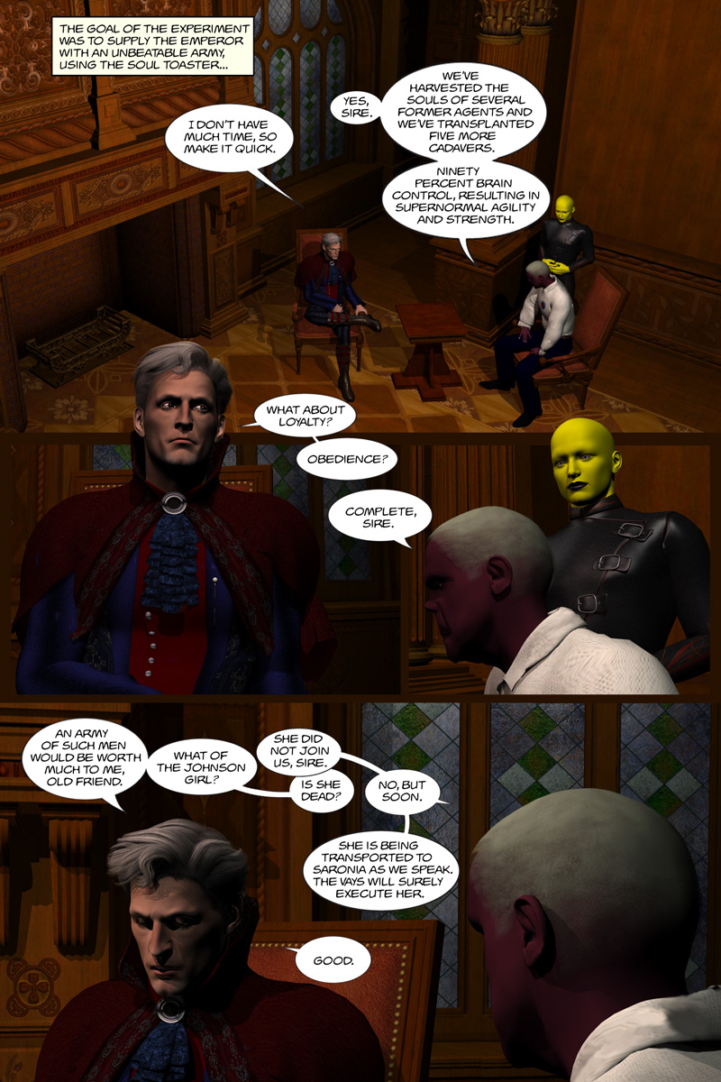 Chapter 5, page 15 – Meet the Emperor of the Universe