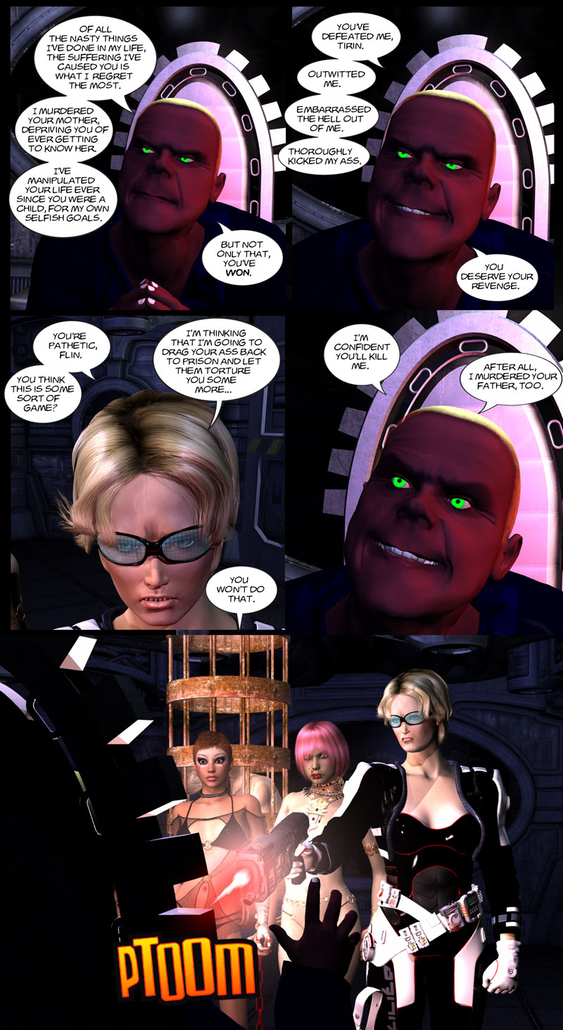 Chapter 5, page 25 – Flin admits what he did to Tirin's dad
