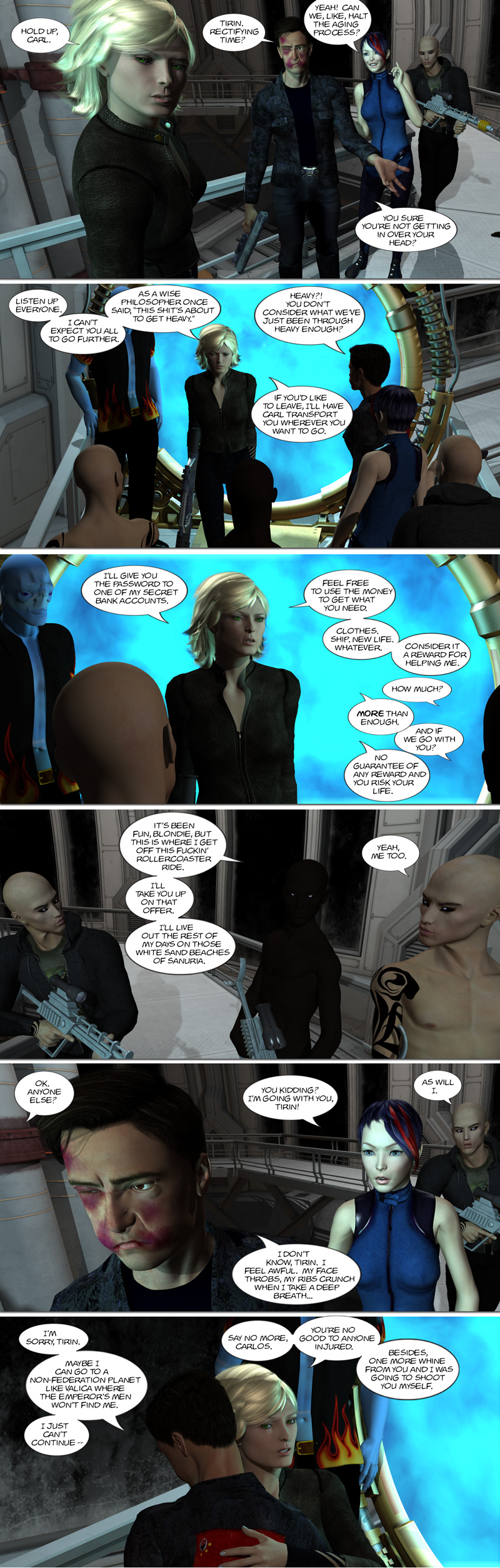 Chapter 9, page 27 – Carlos takes his leave