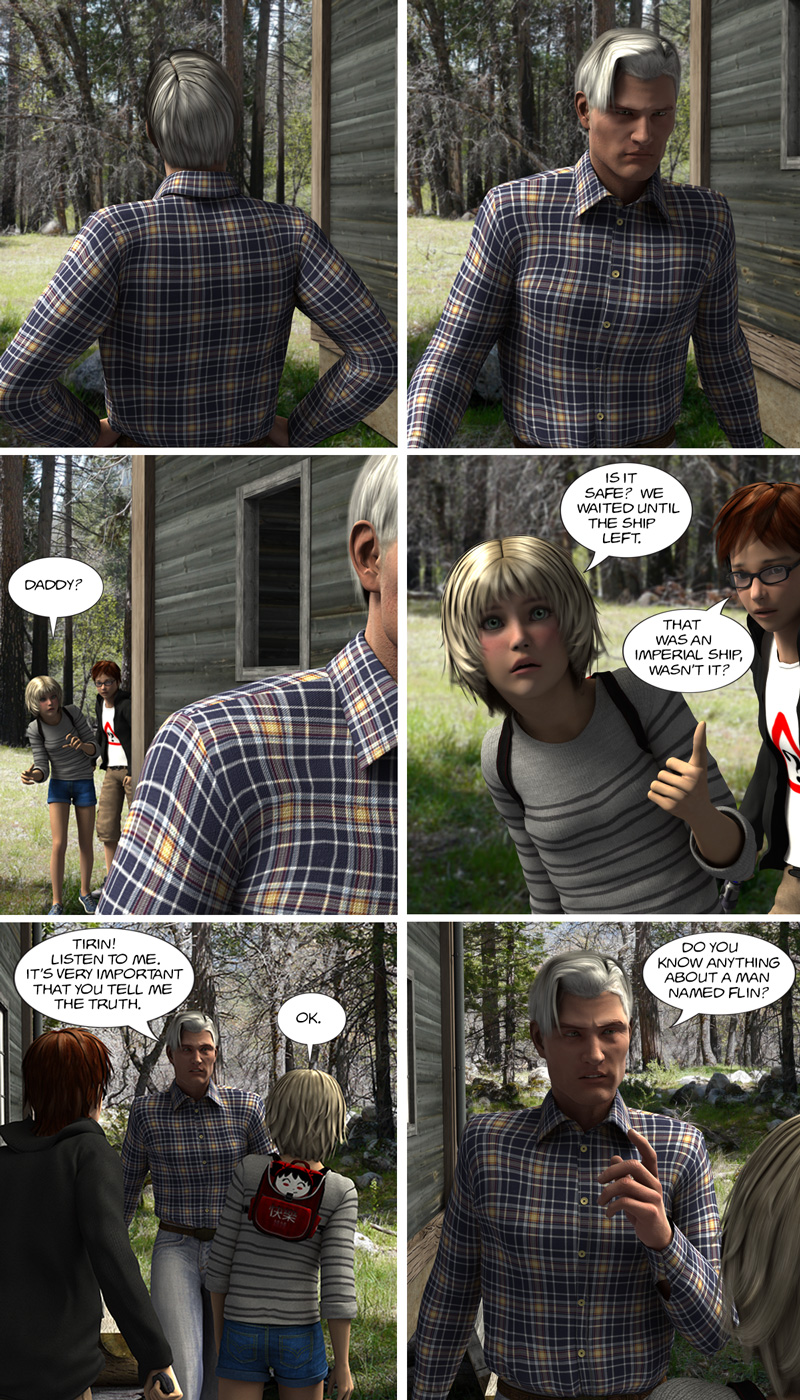 Chapter 11, page 25 – Dad, what's going on?