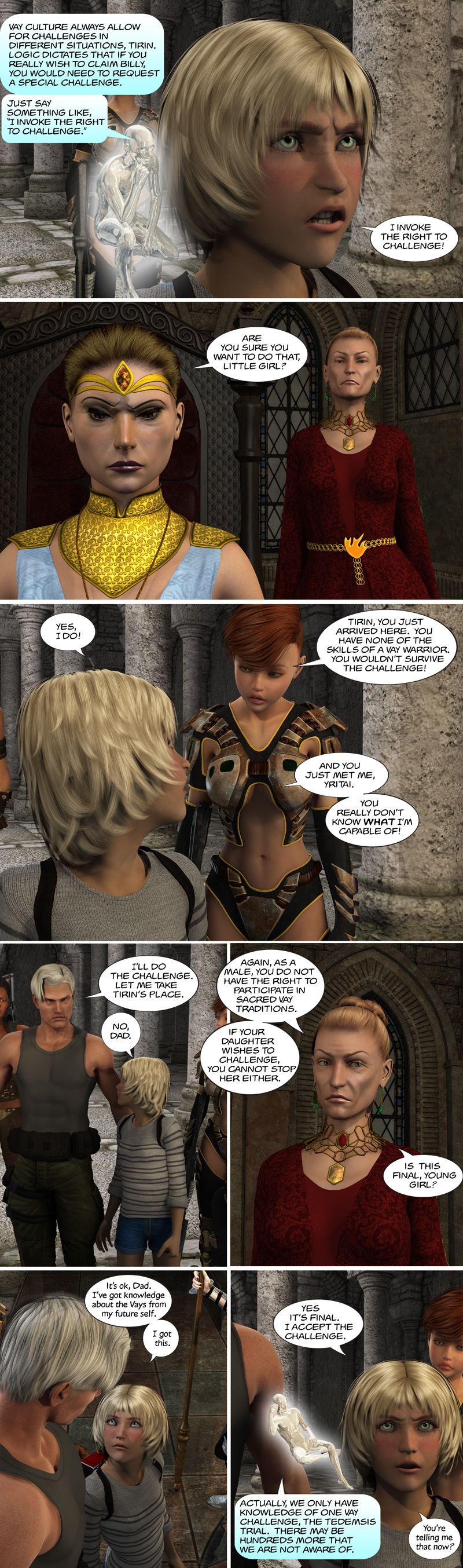 Chapter 12, page 17 – I challenge for the right to own Billy!