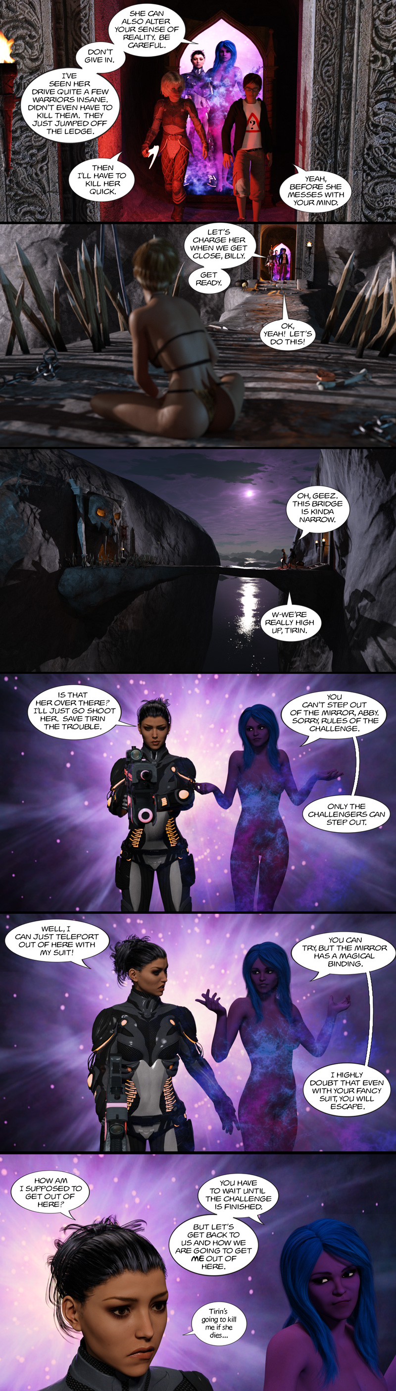 Chapter 13, page 18 – the doppelganger