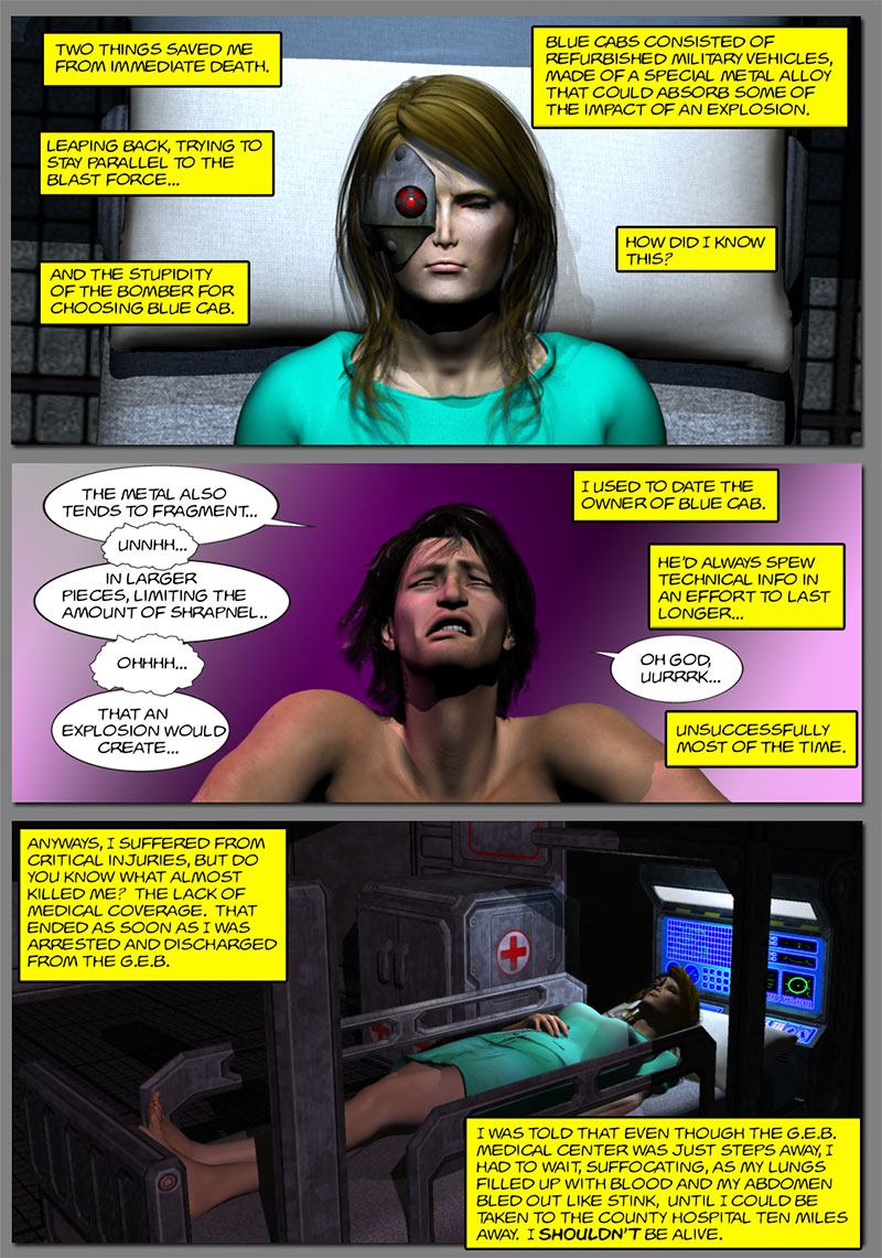 Chapter 3, page 10 – Tirin is hospitalized