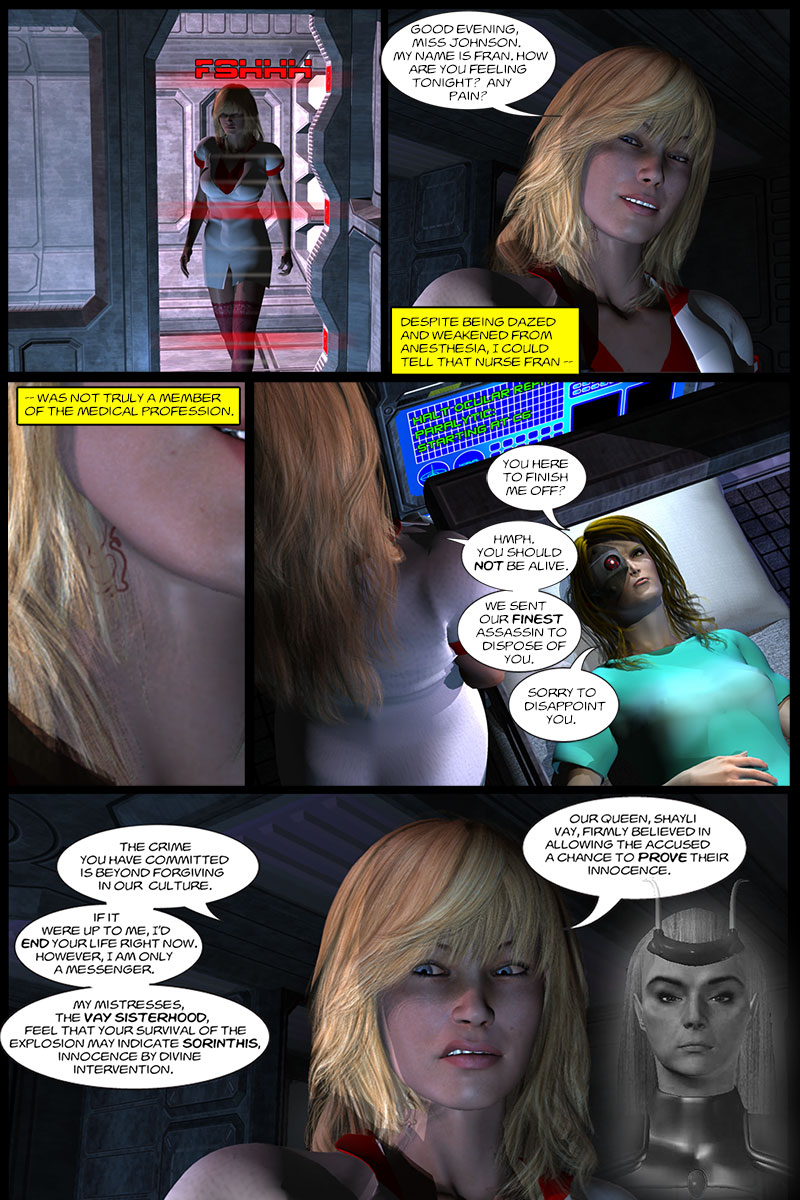 Chapter 3, page 12 – Nurse Francine