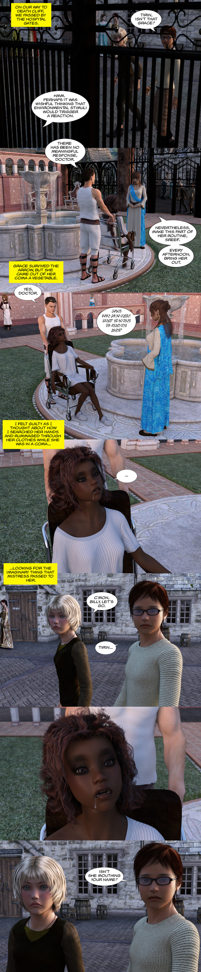 Chapter 17, page 13 – Is that Grace?