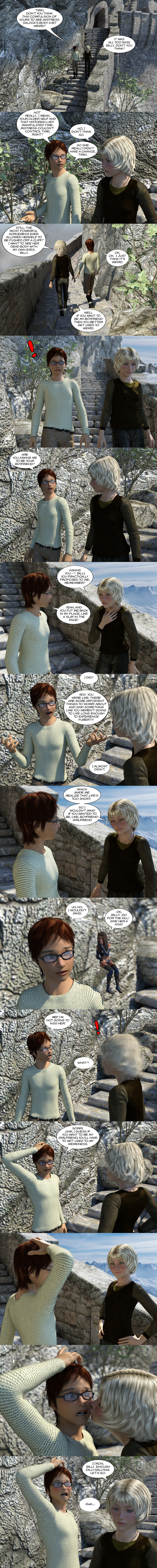 Chapter 17, page 15 – Billy and Tirin interlude