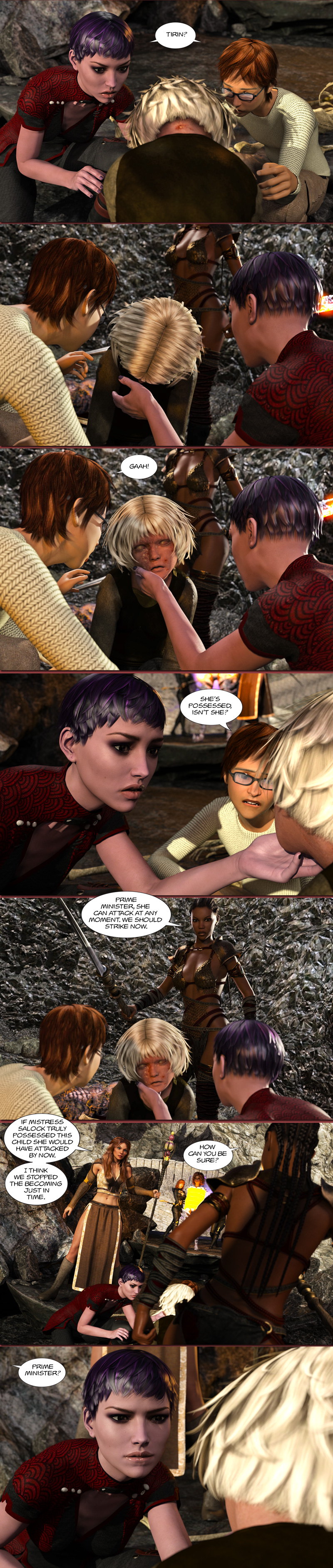 Chapter 17, page 24 – Tirin possessed