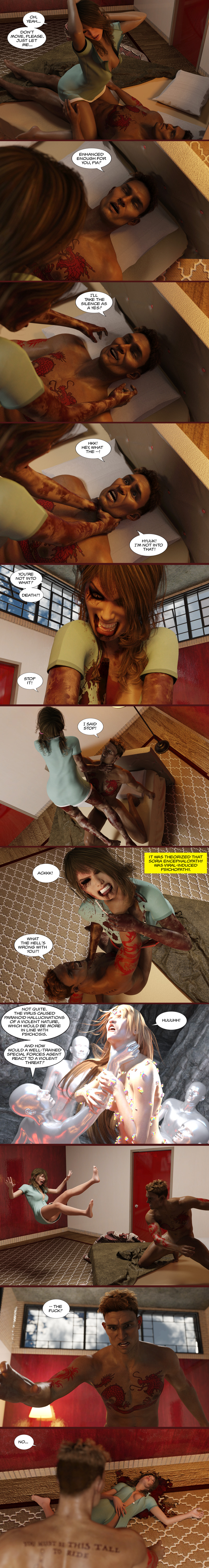 Chapter 17, page 29 – Oscar's first soriapathic episode