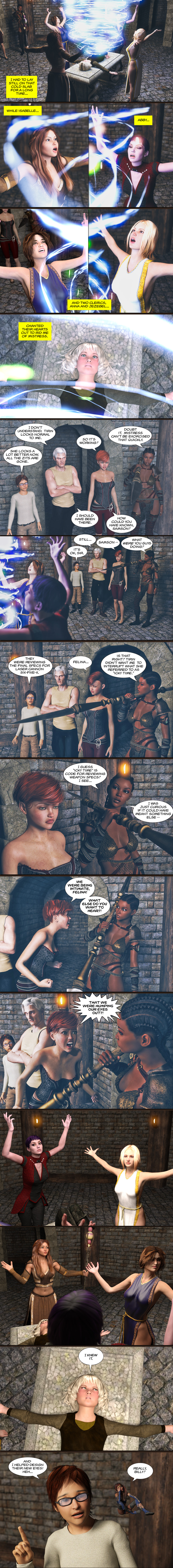 Chapter 17, page 33 – Exorcism interruptus