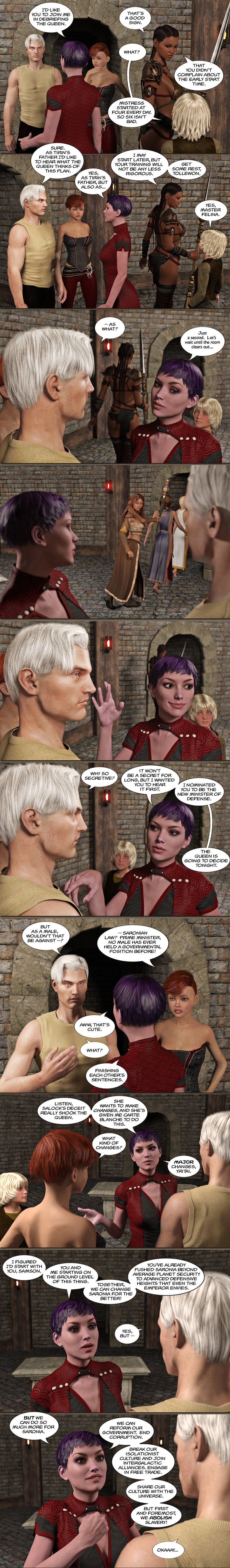 Chapter 17, page 36 – Abby's Minister of Defense