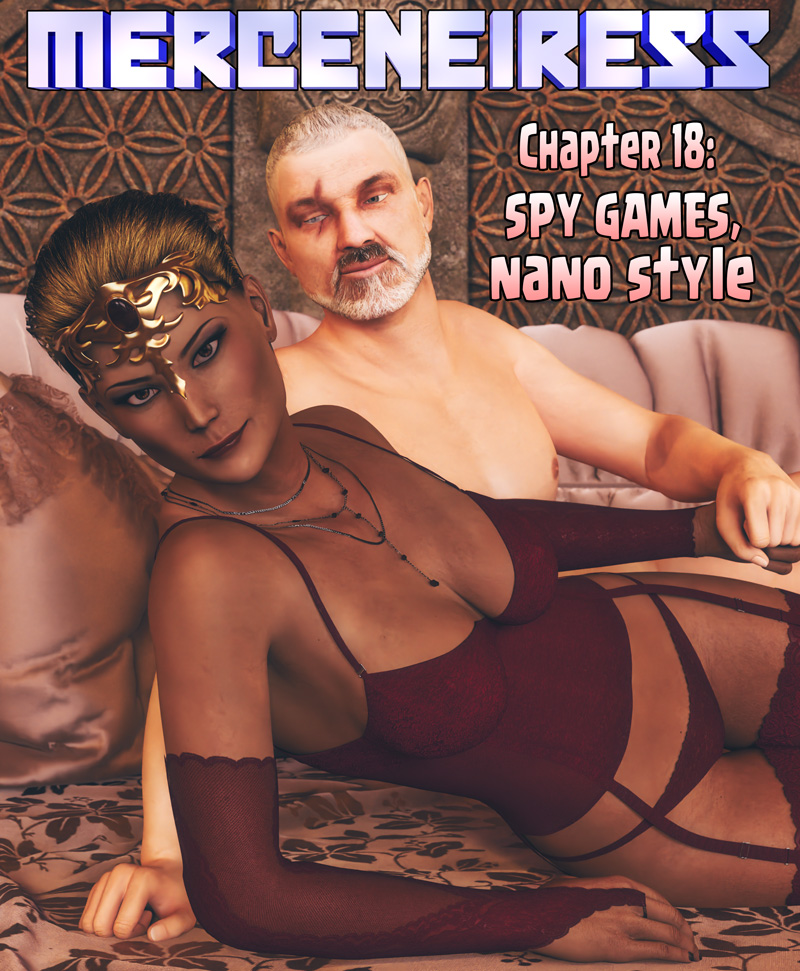 Chapter 18, cover – SPY GAMES, NANO STYLE