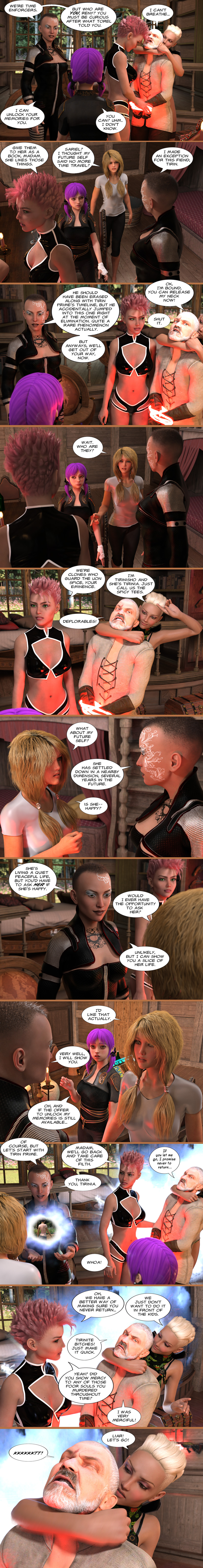 Chapter 18, page 14 – Meet Tirinisho and Tirinia