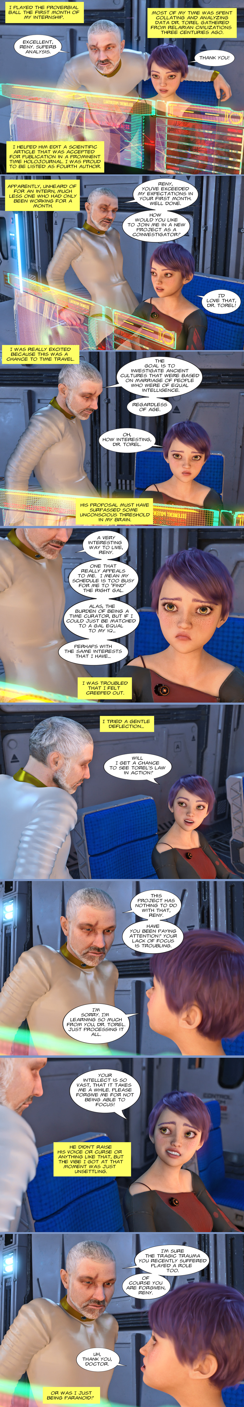 Chapter 19, page 12 – an unsettling vibe